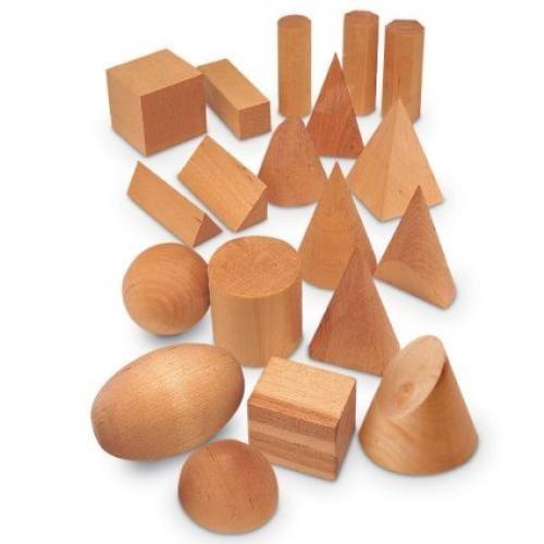 Forme Geometrice Din Lemn (set 19) - Jocuri pentru copii - Jocuri matematica