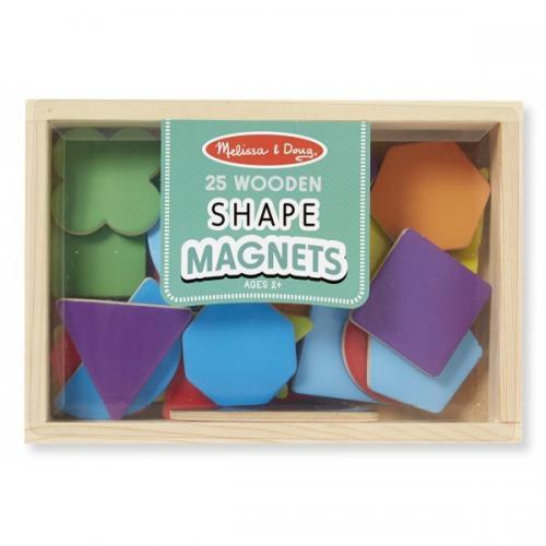 Forme Magnetice Din Lemn - Jocuri pentru copii - Jocuri magnetice