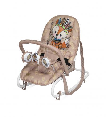 Fotoliu balansoar - rock star - beige foxy - Camera bebelusului - Leagane si balansoare