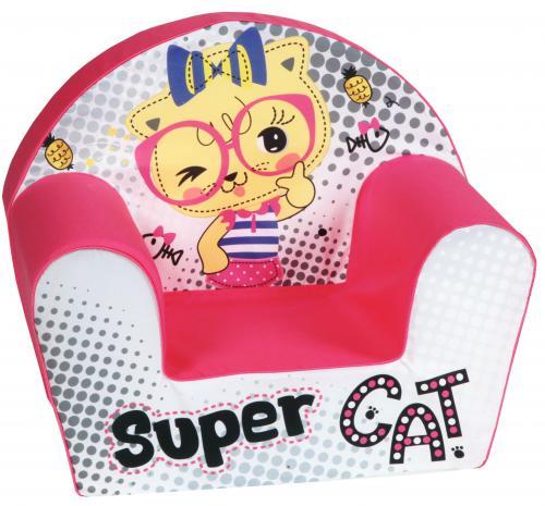 Fotoliu din burete Super Cat - Camera bebelusului - Fotolii copii