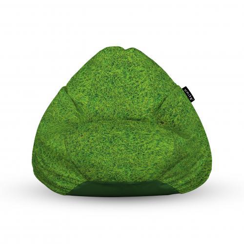 Fotoliu units puf (bean bags) tip para - impermeabil - cu maner - iarba verde - Camera bebelusului - Bean bags