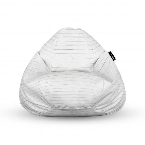 Fotoliu units puf (bean bags) tip para - impermeabil - cu maner - lemn alb - Camera bebelusului - Bean bags