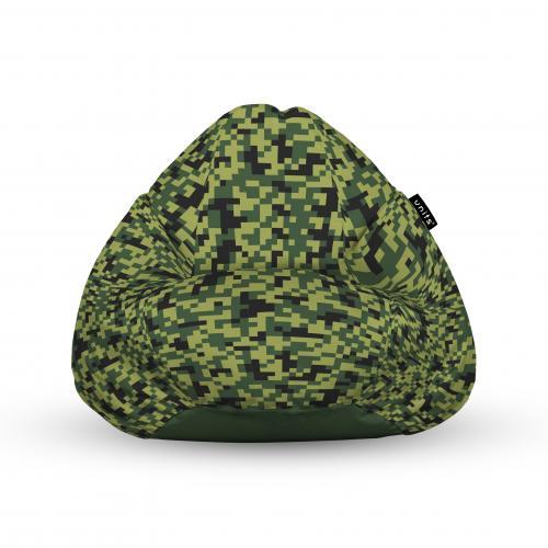 Fotoliu units puf (bean bags) tip para - impermeabil - cu maner - minecraft - Camera bebelusului - Bean bags