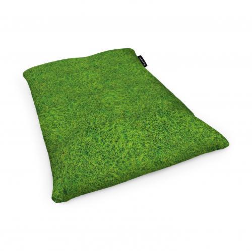 Fotoliu units puf (bean bags) tip perna - impermeabil - iarba verde - Camera bebelusului - Bean bags