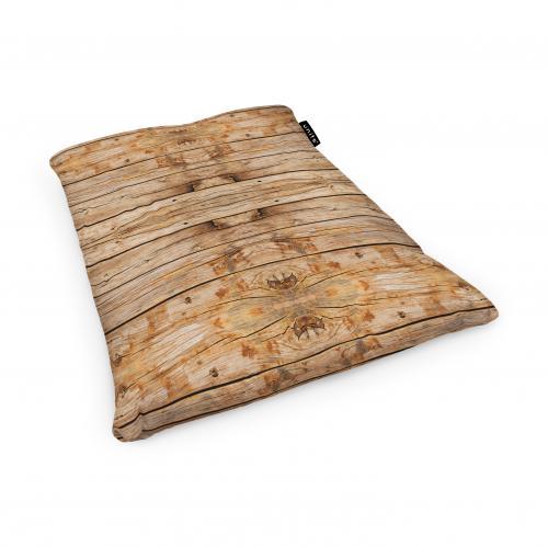 Fotoliu units puf (bean bags) tip perna - impermeabil - lemn maro deschis - Camera bebelusului - Bean bags