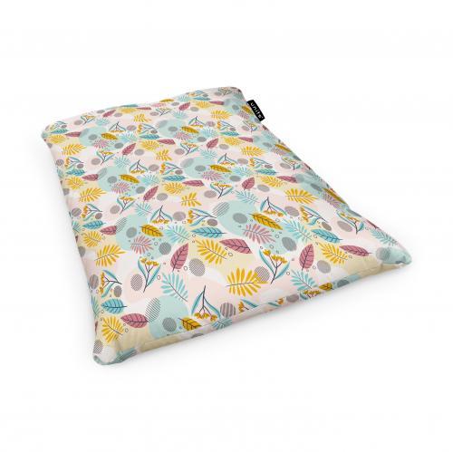 Fotoliu units puf (bean bags) tip perna - impermeabil - multicolor cu frunze - Camera bebelusului - Bean bags