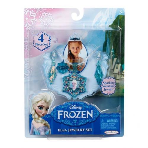 Frozen Elsa Set Diadema Si Bijuterii - Jucarii copilasi -