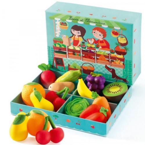 Fructe si legume djeco - Jucarii copilasi -
