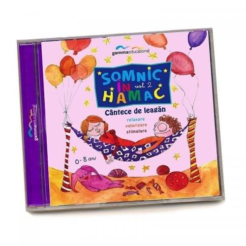 Gamma Educational Album muzical Somnic in Hamac vol2 - Jucarii copilasi - Jucarii educative bebe