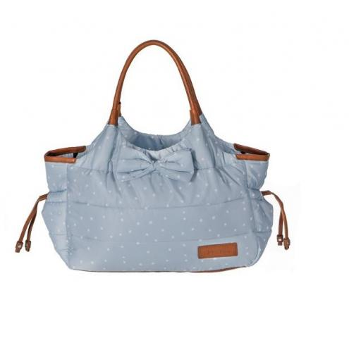 Geanta pentru mamici Mama Bag Dotty Blue - Plimbare bebe - Genti carucioar