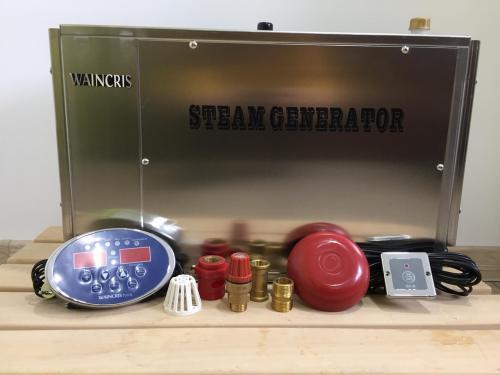 Generator de aburi hammam din inox waincris torro s 12kw cu functie anticalcar wt120bs - Jucarii exterior - Piscine