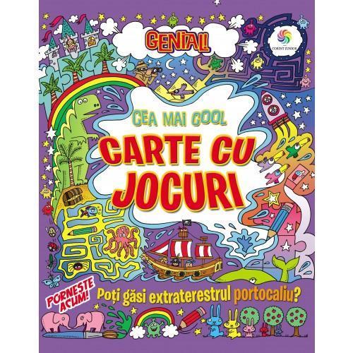 Genial! Cea mai cool carte cu jocuri - Carti  -