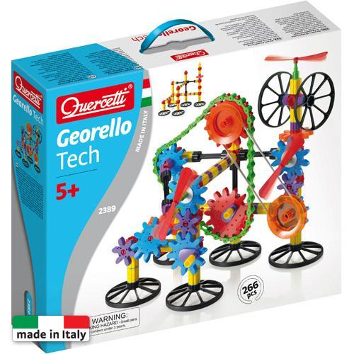 Georello 3d Gear Tech - Jucarii copilasi - Jucarii de constructie