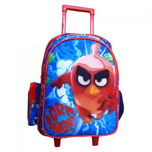 Ghiozdan cu troler Angry Birds 33 cm - Rechizite - Ghiozdane si trolere