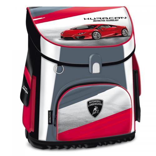 Ghiozdan scoala copii Erogonomic Baieti Lamborghini TURBO 41 cm - Rechizite - Ghiozdane si trolere