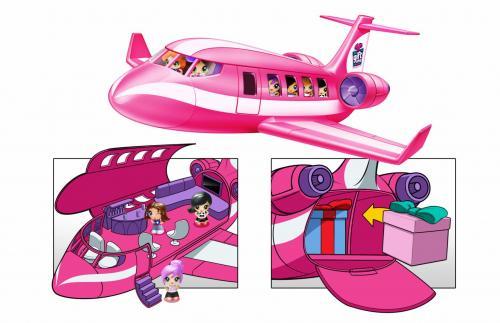 Gifts- set de jucarii - avion - Jucarii copilasi - Figurine pop