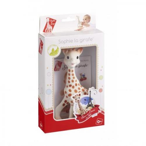 Girafa Sophie in cutie cadou Fresh Touch - Jucarii bebelusi -