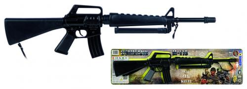 GONHER Pusca Comando M 16 negru - Jucarii copilasi - Pusti si pistoale