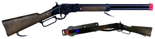 GONHER Pusca Cowboy 8 negru 685cm - Jucarii copilasi - Pusti si pistoale