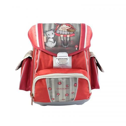 Gorjuss-Ghiozdan ergonomic rigid-Little Red Riding Hood - Rechizite - Ghiozdane si trolere