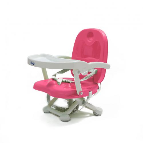 Inaltator pentru masa Juju Easy Peasy - Roz - Hrana bebelusi - Inaltator scaun copii
