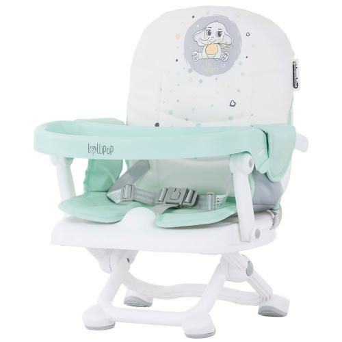 Inaltator scaun de masa Chipolino Lollipop mint - Hrana bebelusi - Scaun masa bebe