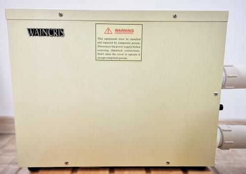 Incalzitor electric din inox spa piscina - jacuzzi waincris 9kw - Jucarii exterior - Piscine