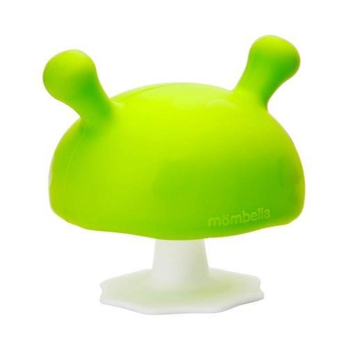 Inel gingival din silicon - mombella - ciupercuta verde - Jucarii bebelusi - Jucarii dintisori