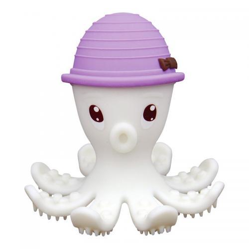 Inel gingival din silicon - mombella - octopus mov - Jucarii bebelusi - Jucarii dintisori