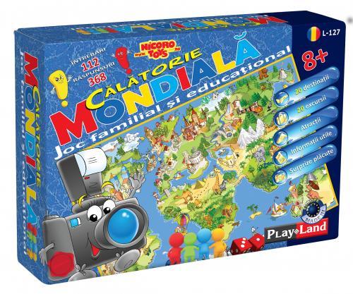 Joc Calatorie Mondiala 8+ - Jocuri pentru copii - Jocuri societate