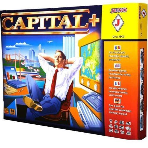 Joc CAPITAL+ - Jocuri pentru copii - Jocuri societate