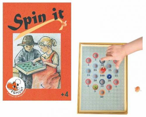 Joc cu titirezi - spin it - Jocuri pentru copii - Jocuri societate
