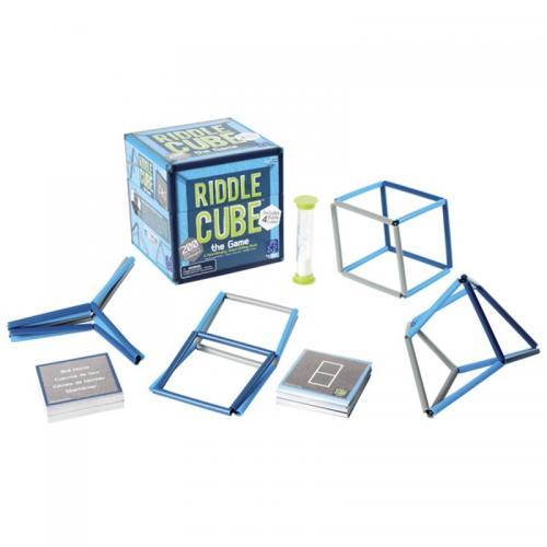 Joc Cub-Enigma pentru creatie geometrica spatiala ( RiddleCube ) - Jucarii copilasi - Toys creative