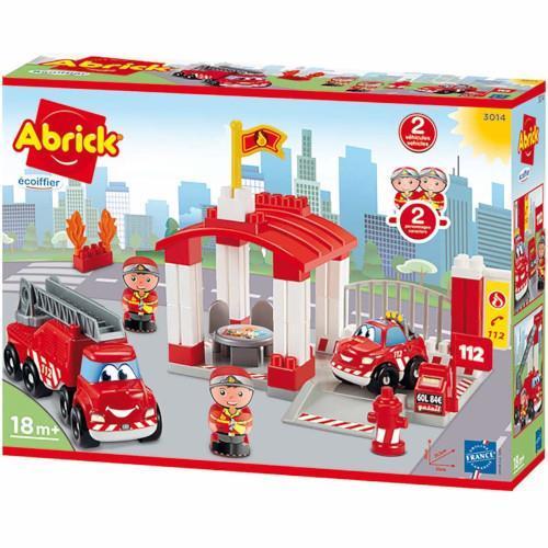 Joc de Construit Statie de Pompieri Abrick - Jucarii copilasi - Jucarii de constructie