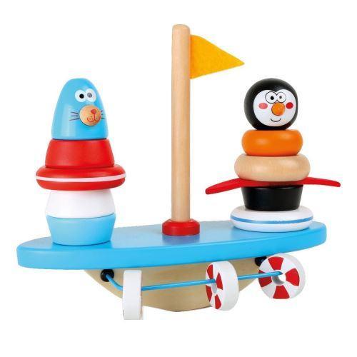 Joc de echilibru si coordonare - Polul Sud - Jucarii copilasi - Jucarii educative bebe