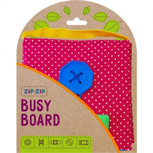 Joc de indemanare Carte Senzoriala Busy Board Roter Kafer RZ2001-02 - Jucarii copilasi - Jucarii educative bebe