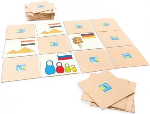 Joc De Memorie World Game Buitenspeel - Jucarii copilasi - Jucarii educative bebe