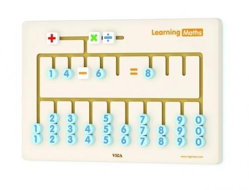Joc de perete Matematica - Jucarii Montessori -