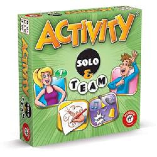 Joc de Societate Activity Solo and Team - Jocuri pentru copii - Jocuri societate