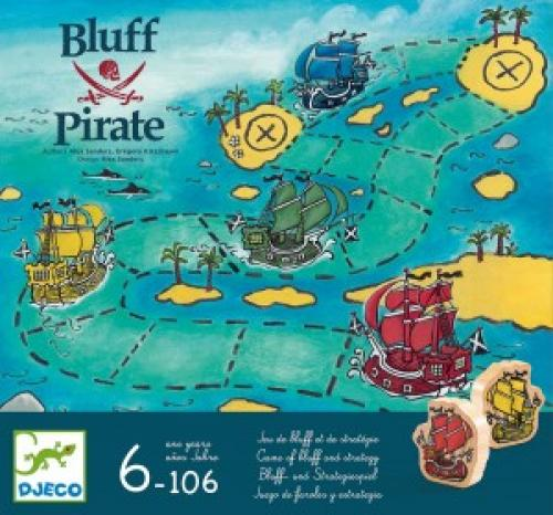 Joc de strategie djeco - bluff pirat - Jocuri pentru copii - Jocuri societate