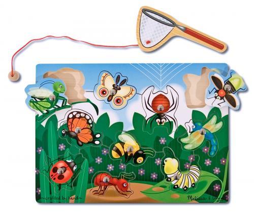 Joc Din Lemn Magnetic Prinde Insectele Melissa And Doug - Jocuri pentru copii - Jocuri magnetice