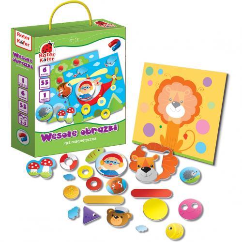 Joc educativ mozaic magnetic Roter Kafer RK2010-04 - Jucarii copilasi - Jucarii educative bebe