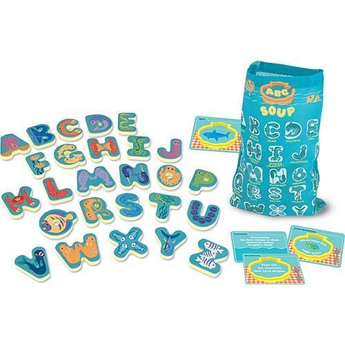 Joc In Limba Engleza Supa Cu Litere Melissa And Doug - Jucarii copilasi - Jucarii educative bebe