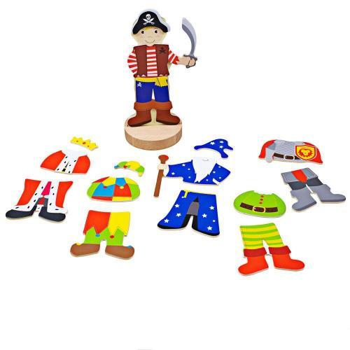Joc magnetic - Costume de carnaval - Jucarii copilasi - Dezvoltare imaginatie