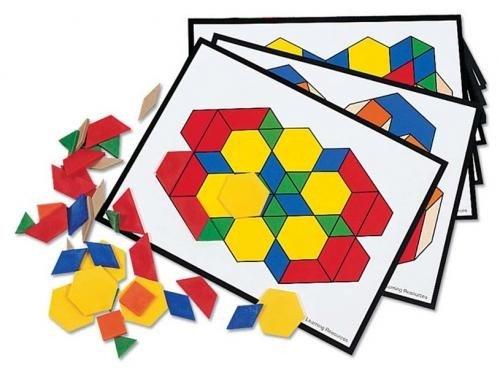 Joc modele Si Sabloane - Jucarii copilasi - Dezvoltare imaginatie
