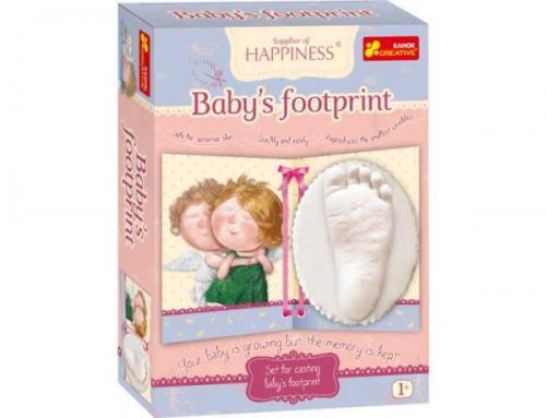 Joc pentru copii Amprenta piciorului copilului GAPCHINSKA - Jucarii copilasi - Jucarii stiintifica
