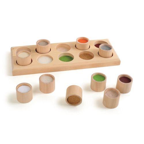 Joc senzorial - Recunoaste ce ai atins - Jucarii copilasi - Jucarii educative bebe