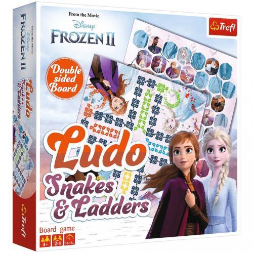 Joc Trefl Disney Frozen 2 - Serpisori si scari 2 in 1 - Jocuri pentru copii - Jocuri societate