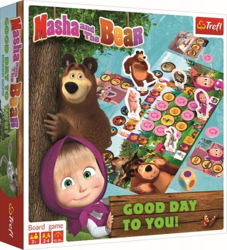 Jocul masha o zi buna - Jocuri pentru copii - Jocuri cu puzzle