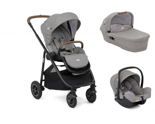 Joie - Carucior Versatrax Gray Flannel 3 in 1 - Carucior bebe - Carucioare 3 in 1